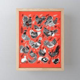 Lil Cluckers Framed Mini Art Print