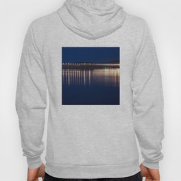 The River Tay at night Dundee Hoody