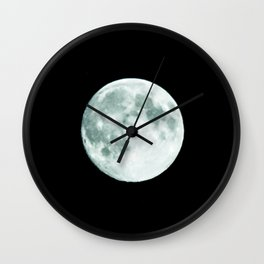 just moon Wall Clock
