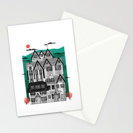 Tudor Revival Stationery Cards