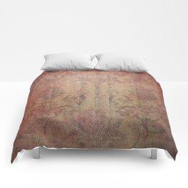 Damask Vintage Pattern 10 Comforters
