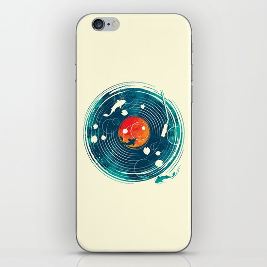 Sound of Water iPhone & iPod Skin