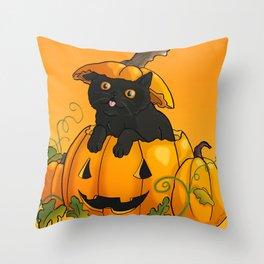 Halloween 2015 - Barnabas Throw Pillow