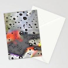 Pearly dew drops drop Stationery Cards