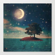 A Quiet Place for Two Canvas Print