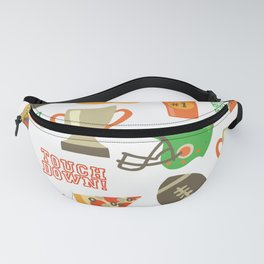 American Football pattern Fanny Pack