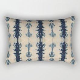Shibori Flowers Rectangular Pillow