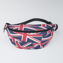 Union Jack Flags Fanny Pack