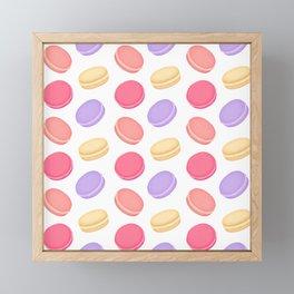 Macarons Framed Mini Art Print