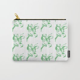 Follow the Herd - All Over Green #637 Carry-All Pouch