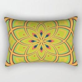 Spiral Rose Pattern D 4/4 Rectangular Pillow