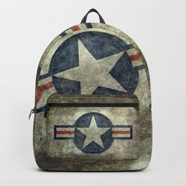 US Air force style insignia V2 Backpack