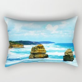 Rough Waters Rectangular Pillow