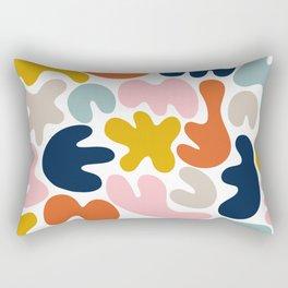 Blob Collage - Multi Rectangular Pillow