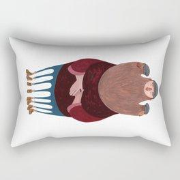 King Beardy Rectangular Pillow
