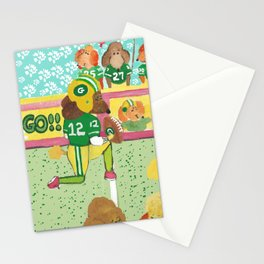 Go Poodles Go II Stationery Cards
