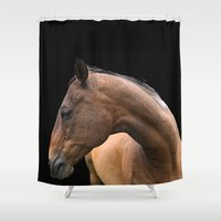 danny haas Shower Curtains featuring Danny by anipani