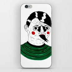 Snake Kid iPhone & iPod Skin