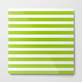 marinière mariniere Green version Metal Print