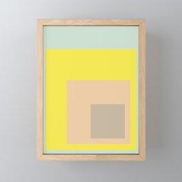Color Ensemble No. 1 Framed Mini Art Print