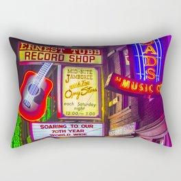Music City Rectangular Pillow