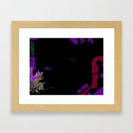 Make connections Framed Art Print