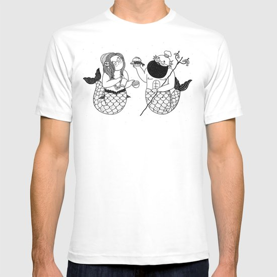 The Mermaid & The Merman T-shirt