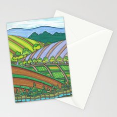 Colored Hills Stationery Cards