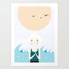 Sunny Age. Art Print