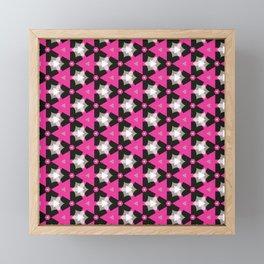 Abstract Fest Pattern 02 Framed Mini Art Print