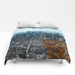 New York City Central Park Comforters