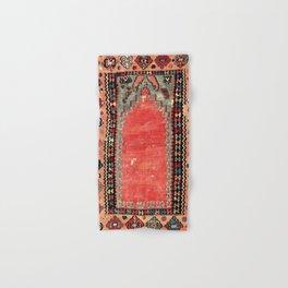 Sivas  Antique Cappadocian Turkish Niche Kilim Print Hand & Bath Towel