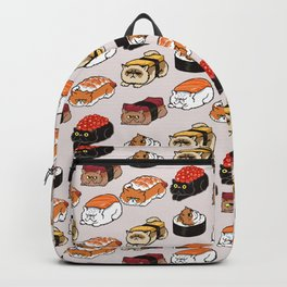 Sushi Persian Cat Backpack