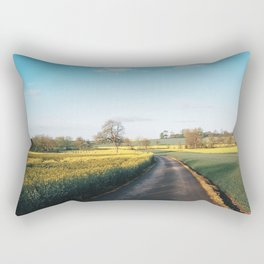 Early morning in derbyshire Rectangular Pillow