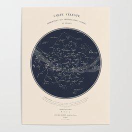 Carte Celeste Poster