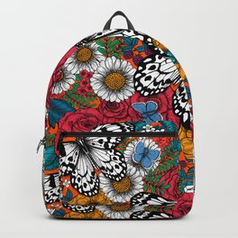 A colorful garden  Backpack