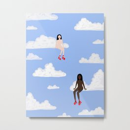 All Strippers Go To Heaven 2 Metal Print