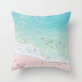 Beach Sunday Throw Pillow