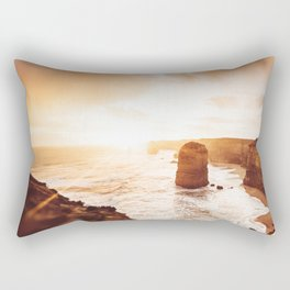 sunset at the twelve apostles Rectangular Pillow