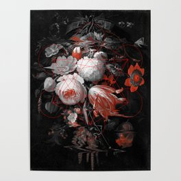 sacred flowers Poster