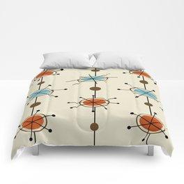 Atomic Era Satellites Comforters