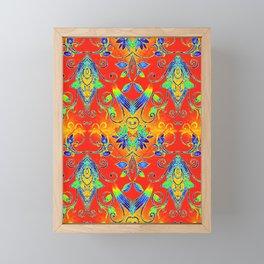 Floral Tapestry 3 Framed Mini Art Print