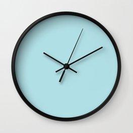 Powder Blue Wall Clock