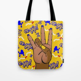 Sigma Gamma Rho Hand Sign By Vizzy Nakasso Tote Bag