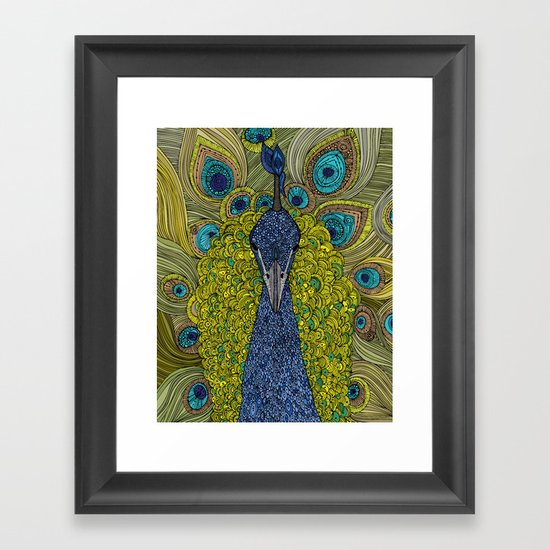 Mr. Pavo Real Framed Art Print