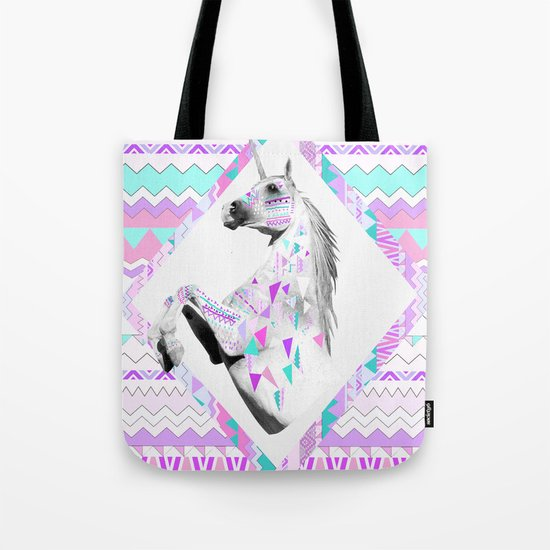TWIN SHADOW by Vasare Nar and Kris Tate Tote Bag