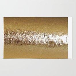 Golden Foil Rug
