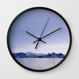 Salt Lake Wall Clock