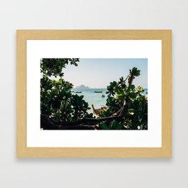 Ao Nang view Framed Art Print