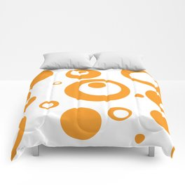 Circles Dots Bubbles :: Marmalade Inverse Comforters